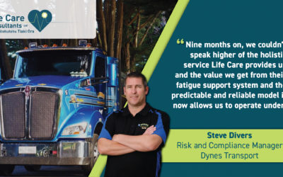 Fatigue management and in-cab detection system a partnership for success